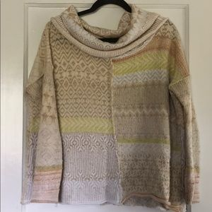Free People Cowl Neck Sweater